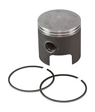 Piston with rings for Suzuki DT40 (0.25)