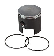 Piston with rings for Suzuki DT40 (0.50)