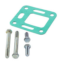 Exhaust Elbow gasket Mercruiser (GM) L6 with bolts, OSCO