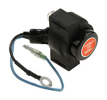Hydraulic lift  relay for Suzuki DT40-200