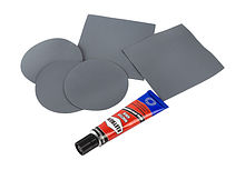 Repair Kit for Inflatable Boat, Gray