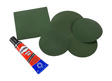 Repair Kit for Inflatable Boat, Green