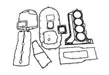 Block gasket Kit for  Suzuki DF150-175
