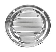 Round Louvered Vents 102mm, stainless