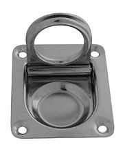 Square Flush Ring Pull 65x56x1 mm