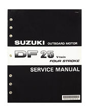 Service Manual Suzuki DF25 V-twin (en)