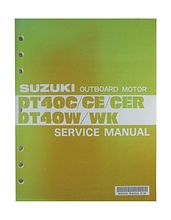 Service Manual Suzuki DT40W/WK/C (Eng) 1994 year