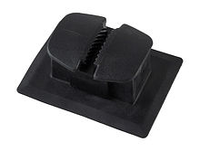 Ring for PVC boat, black (under the rope 10-16 mm)