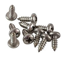 Round head screw and cross recess A4 DIN7981, 2,9x9,5 packing 1/10