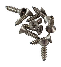 Screws with countersunk head and cross recess A4 DIN7982,  4,2x16, packaging 1/10