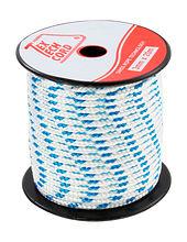 Cord Mini Spoll d3mm, L20m, white/blue