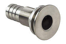 Stainless Steel Scupper, Hose 24 mm