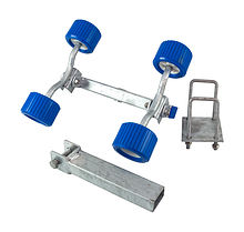 Wobble Roller Assembly, 4-Rollers, Adjustable