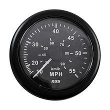 Speedometer 55 MPH, Black/Black