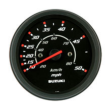 Speedometer for Suzuki 4 ' Black