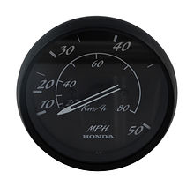 Speedometer Honda, Black