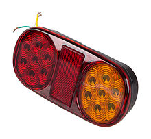 Rear light 162x80x27 mm
