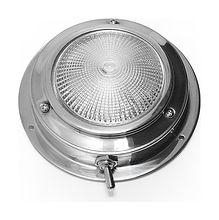 Cabin light, one lamp, 12V, 10W, D110 mm