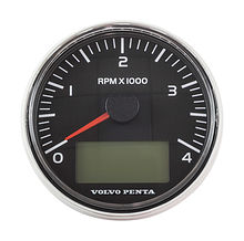 Tachometer 0-4000 rpm, black, D = 85 VP