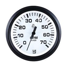 Tachometer 0-7000 rpm, white for PLM