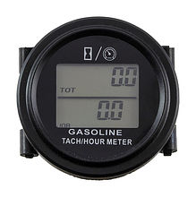 Universal Tach/Hour Meter, 12V