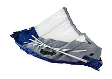 Bow awning for Boat  350, Grey-blue