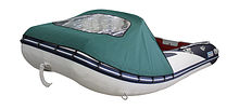Bow awning for for Inflatable Boat 360, Green