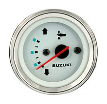 Trim Gauge for Suzuki, White