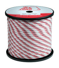 Rope Passat d10mm, L100m, white/red/black color