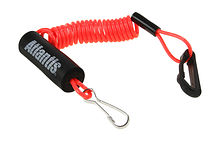 Atlantis floating lanyard, bright red