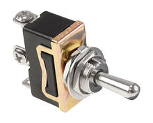Toggle Switch (ON)-OFF-(ON) 12V/15A 3P
