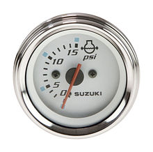 Water Pressure Gauge for Suzuki, White