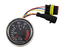 D52 temperature gauge black VP