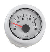 Temperature gauge, White/White