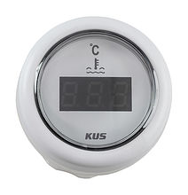 Temperature gauge LED, White/White