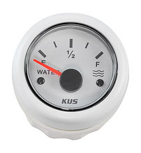 Water Level Gauge 0-190 Ohm, White/White