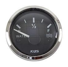Water Level Gauge 240-33 Ohms, Black/Chrome