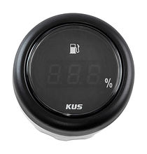 Fuel gauge digital 4-20 Ma, Black/Black