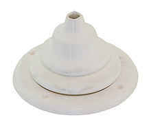 Cable grommet White, d. 105 mm