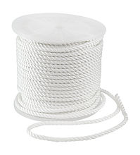 Three-Strand Line d12mm, white, L100m, KOT