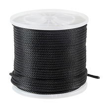 Braid rope d10mm, L100m black, KOT