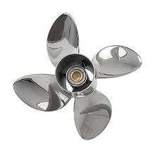 4 Blade 14.3x17L propeller, Solas, (Left rotation)