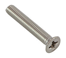 Screw with countersunk head cross recess DIN965 A4 M8h50