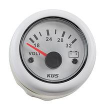 Voltmeter 18-32V, White/White