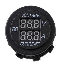 Volt & Amp Meter, 6-30V, 0-10A