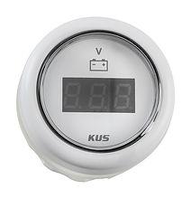 Voltmeter 8-32V, White/White