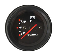 Voltmeter for Suzuki, Black