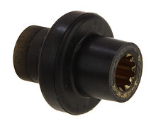 Propeller bushing for Suzuki DF2.5, splines
