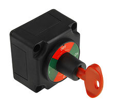 Battery switch 4  provisions ON-OFF 300A, 12-48 V, with key