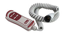 Hand Held Roving for Winch, 4 buttons, flashlight
